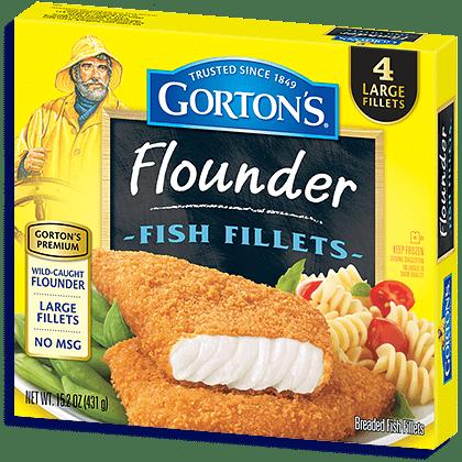 premium flounder fillets gorton s seafood