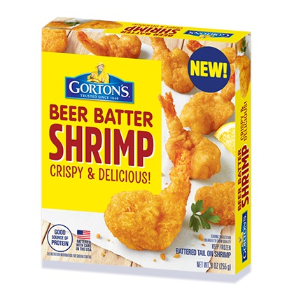 Crispy Beer Batter Shrimp