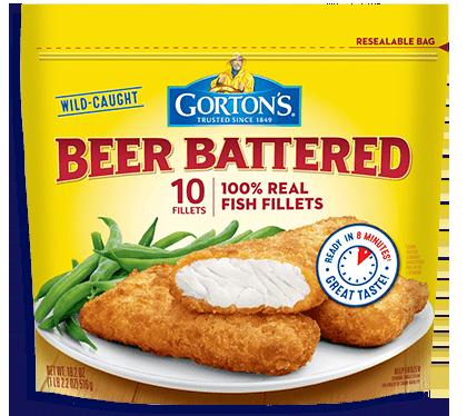 Beer Battered Fish Fillets