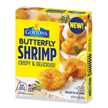 Crunchy Butterfly Shrimp