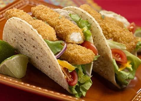 Gorton 39 s fish sticks nutrition facts for Fish stick tacos
