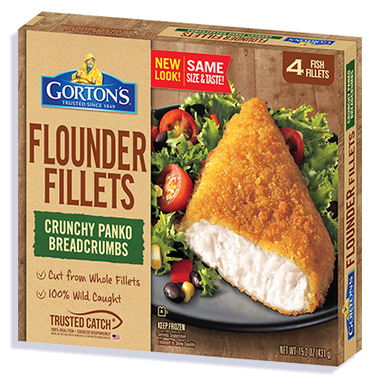 Premium Flounder Fish Fillets