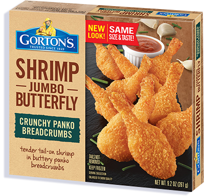 Crunchy Butterfly Shrimp - Gorton's Seafood
