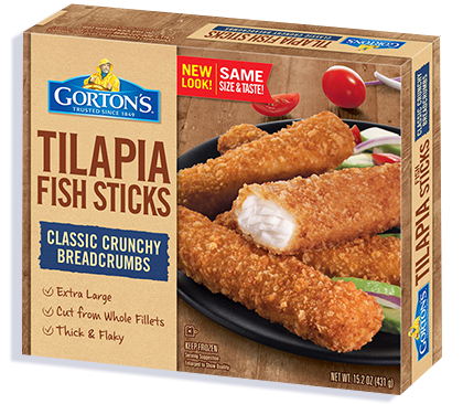 Premium Tilapia Fish Sticks