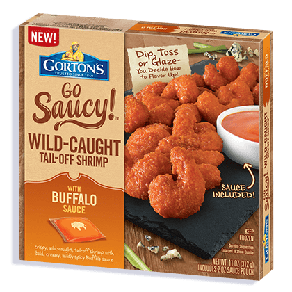 Go Saucy! Buffalo Shrimp