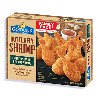 Family Pack Crunchy Butterfly Shrimp