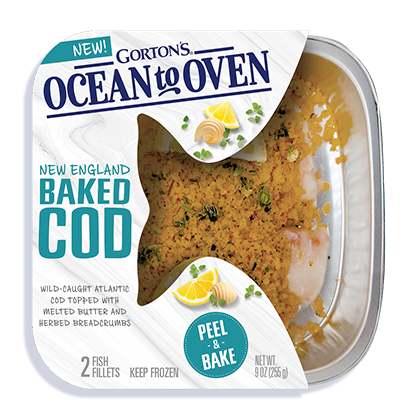 Ocean to Oven New England Baked Cod